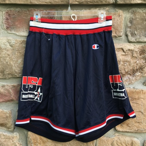 vintage Team USA Dream team 1992 Champion Basketball shorts