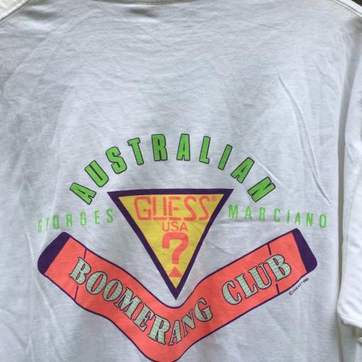 Australian Boomerang Club T shirt Guess ?