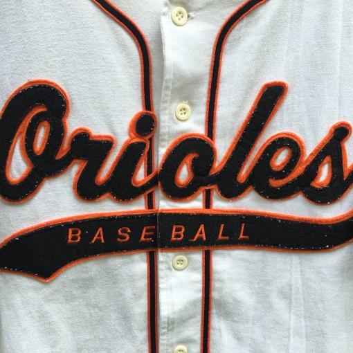 vintage Starter Orioles Baseball jersey size medium