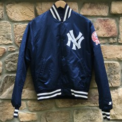 vintage New York Yankees Starter Satin MLB jacket
