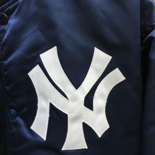 vintage NY yankees 90's 80's starter satin jacket