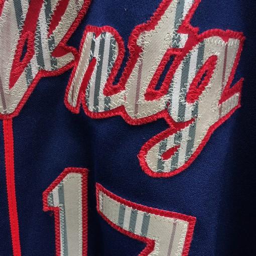 Rare Vntg Burberry Baseball jersey