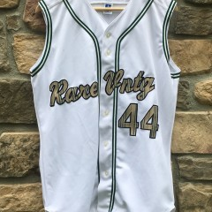 Rare Vntg Burberry sleeveless baseball jersey