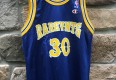 Rare vntg champion basketball jersey warriors style size 36