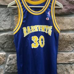 Rare vntg champion basketball jersey warriors style size 36