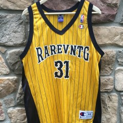 Rare Vntg Indiana Pacers Champion basketball jersey