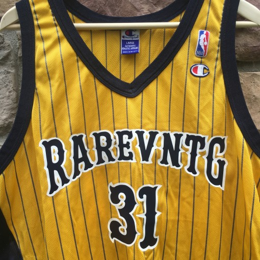 Rare Vntg Champion basketball jersey