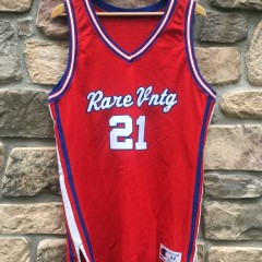 Rare Vntg authentic Champion clippers style basketball jersey