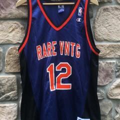 Rare Vntg Champion Knicks style custom jersey