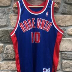 Rare Vntg Bad Boys Pistons CHampion jersey