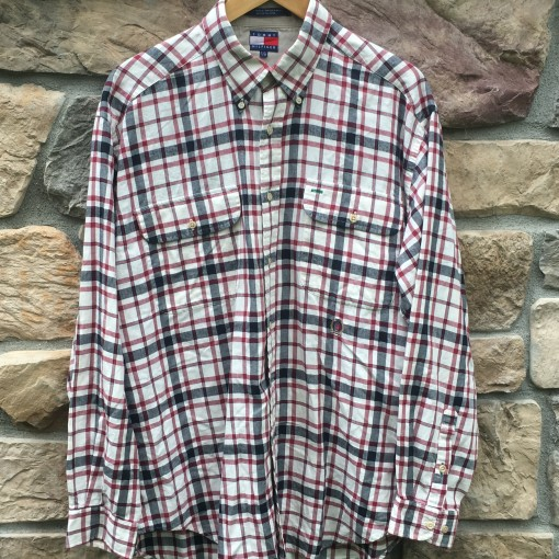 vintage 90's Tommy Hilfiger button up shirt