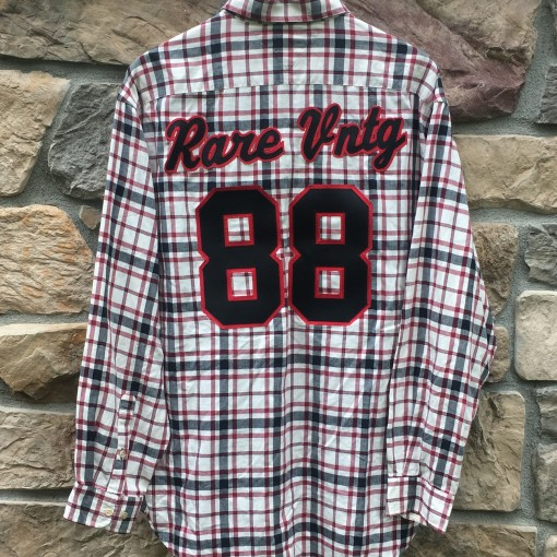Custom Rare Vntg Tommy Hilfiger button up shirt