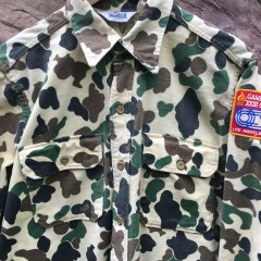 vintage Woolrich camouflage shirt