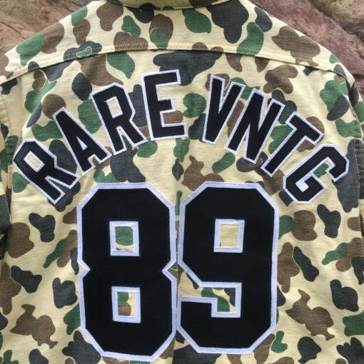 Rare Vntg Camo Shirt
