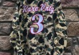 Rare Vntg the answer allen iverson inspired camo button up shirt