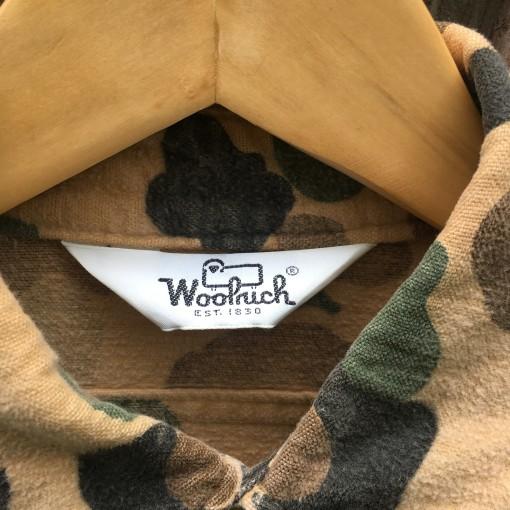 vintage woolrich camo shirt