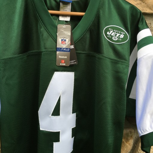 authentic vintage brett Favre new york jets jersey