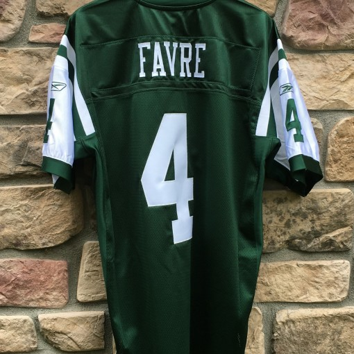 Brett Favre New York Jets authentic jersey