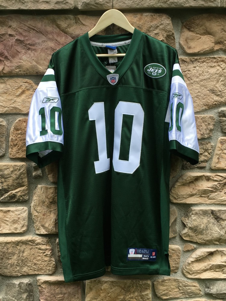 2005 Chad Pennington New York Jets Authentic Green Reebok NFL Jersey  free shipping