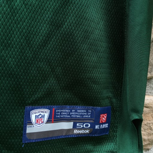 authentic size 50 new york jets nfl jersey
