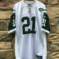vintage LaDainian Tomlinson New York Jets authentic Reebok NFL equipment jersey