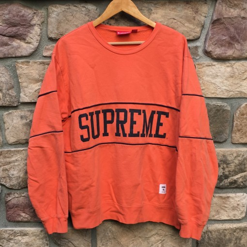 Supreme College Crewneck spring summer 2009 2010 Size xl