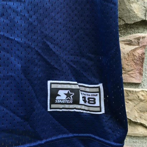 size 48 starter NCAA jersey