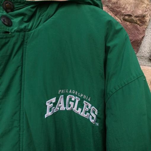 Vintage Philadelphia Eagles Starter coaches heavyweight jacket