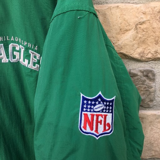 vintage Philadelphia Eagles Starter Coaches down jacket