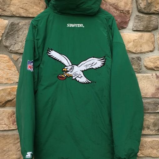 Vintage Philadelphia Eagles Starter Down jacket