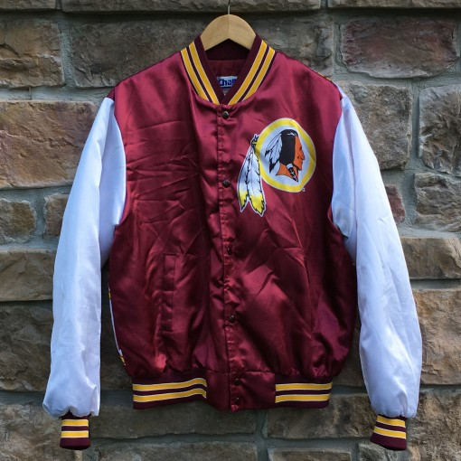 vintage 90's Washington redskins chalkline fanimation jacket