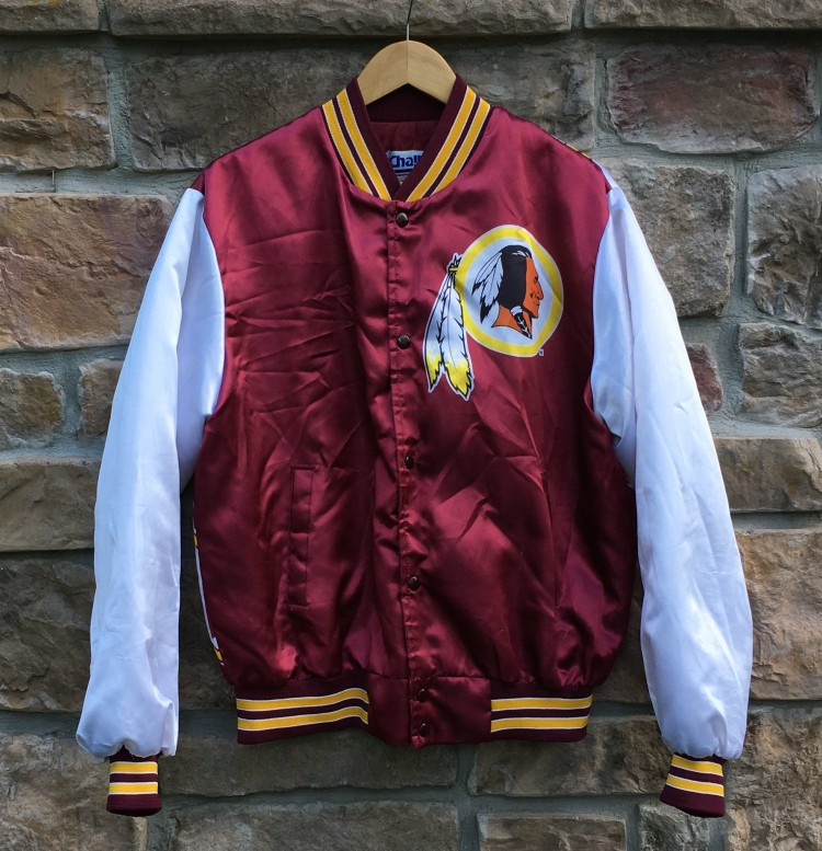brand new f2e90 eb64e 90's Washington Redskins Chalkline NFL Fanimation Jacket Size Large