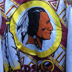 Vintage Washington Redskins chalkline fanimation jacket