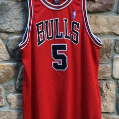 authentic Jalen Rose Chicago Bulls nike jersey size 52