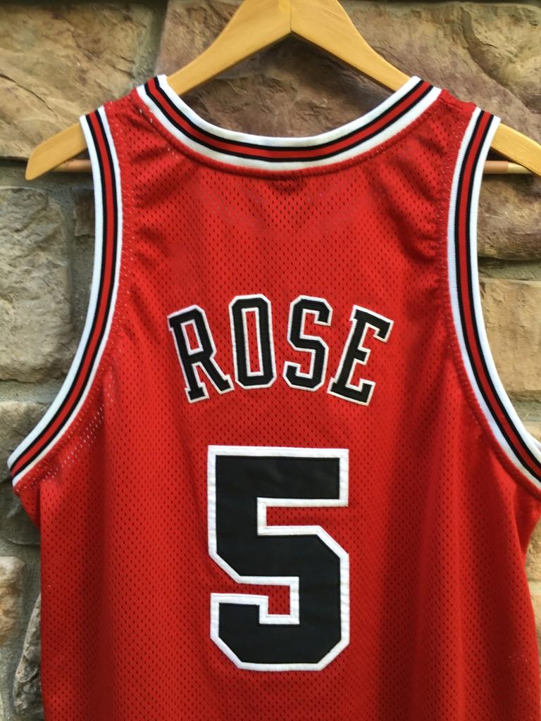 2001 Jalen Rose Chicago Bulls Authentic Nike NBA Jersey ...