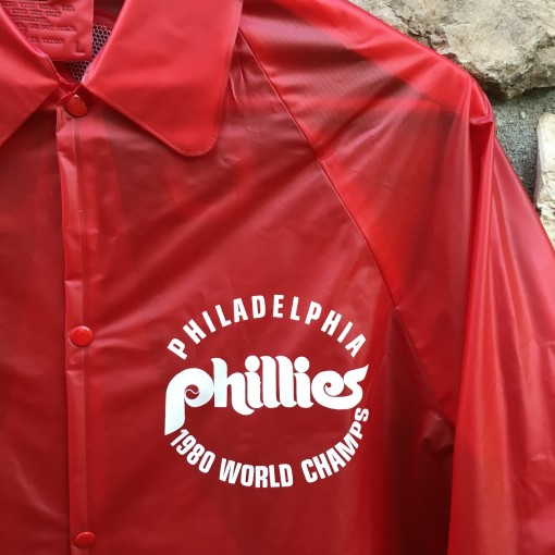 vintage 1980 Philadelphia Phillies World Champions jacket