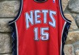 vintage Vince Carter authentic Adidas New Jersey Nets jersey size 48