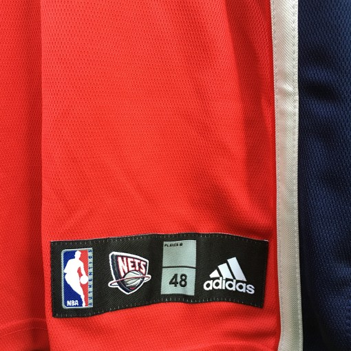 size 48 authentic New Jersey Nets jersey