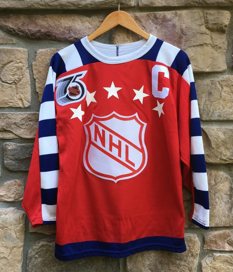 1992 Wayne Gretzky Campbell Conference NHL All Star CCM Jersey Size ... 2e98661442f
