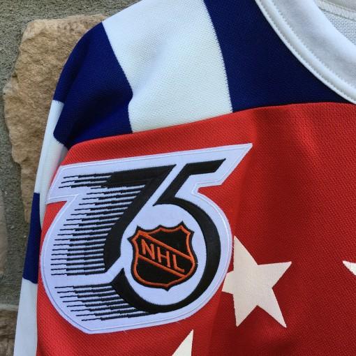NHL 75th anniversary patch