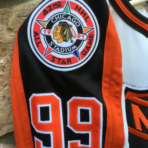 1991 NHL all star jersey chicago