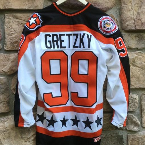1991 Campbell conference nhl all star jersey wayne Gretzky