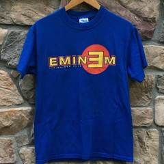2002 Eminem the Eminem Show concert t shirt