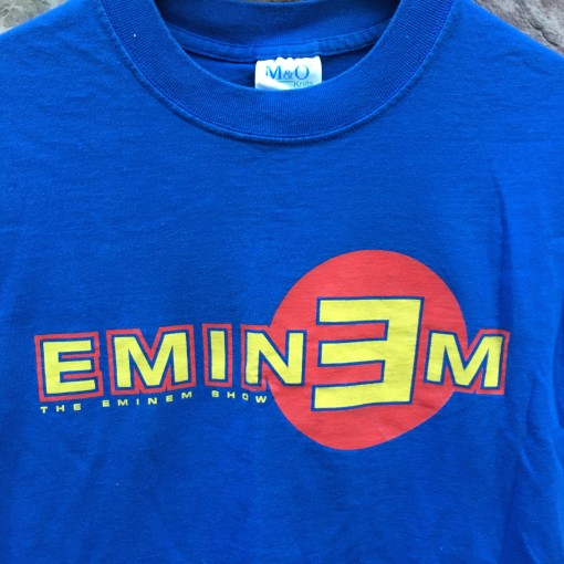 2002 Eminem the eminem concert t shirt