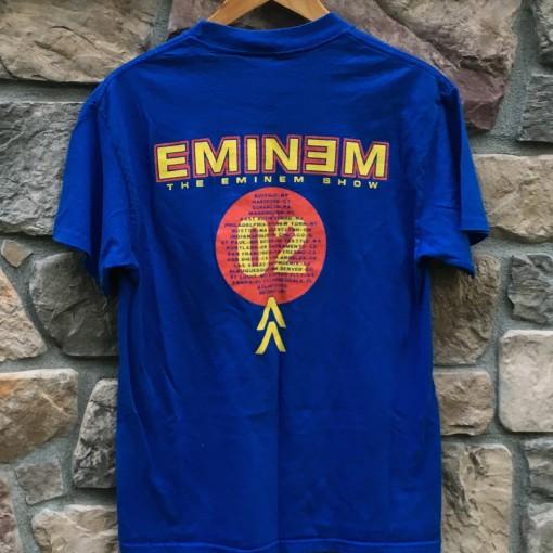 Vintage 2002 Eminem The Eminem show conert t shir t