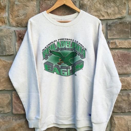 vintage late 80s early 90's Philadelphia eagles crew neck sweatshirt
