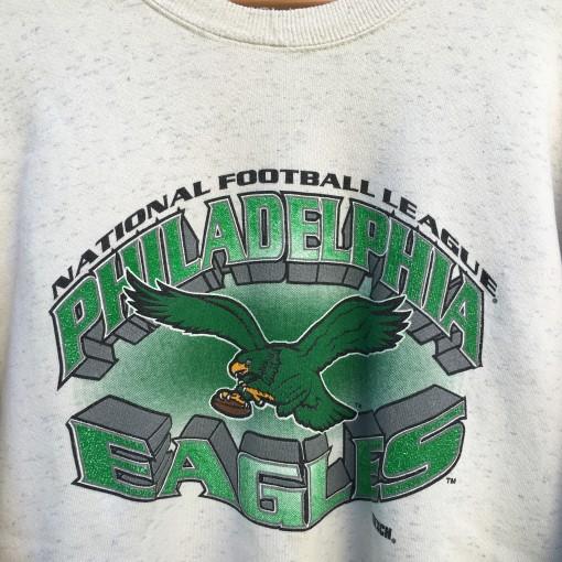 vintage kelly green Eagles Crewneck sweatshirt