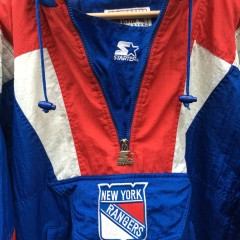 90's New York Rangers Starter NHL pullover jacket