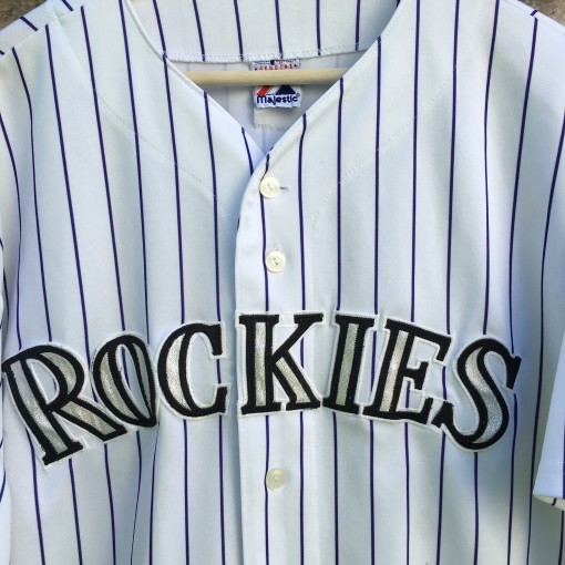 Vintage 90's Colorado Rockies jersey size XL