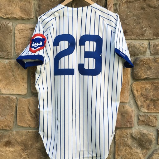 authentic Ryne Sandberg 1990 Chicago Cubs Rawlings MLB jersey